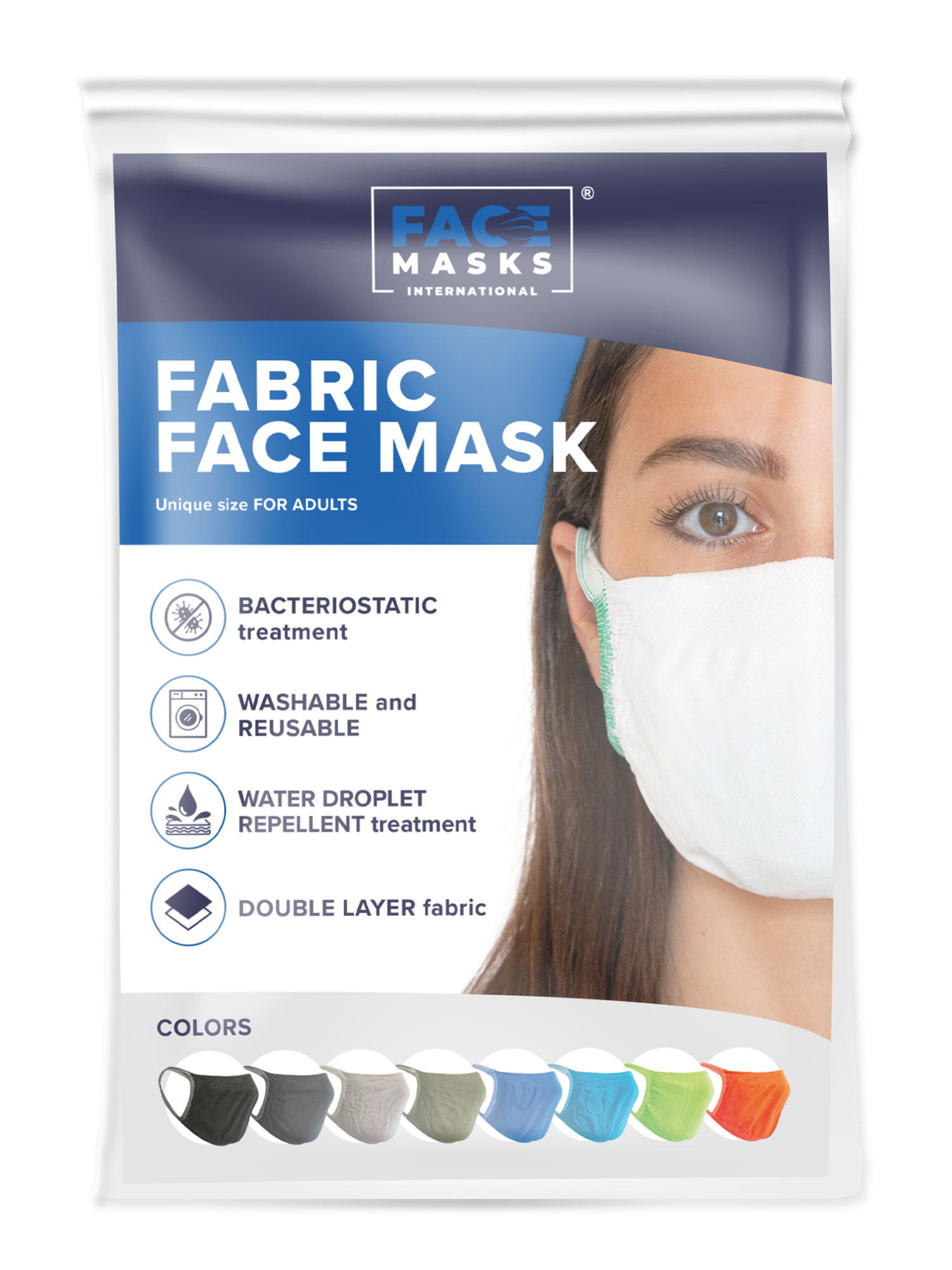 Buy Antibacterial Washable & Reusable Face Masks