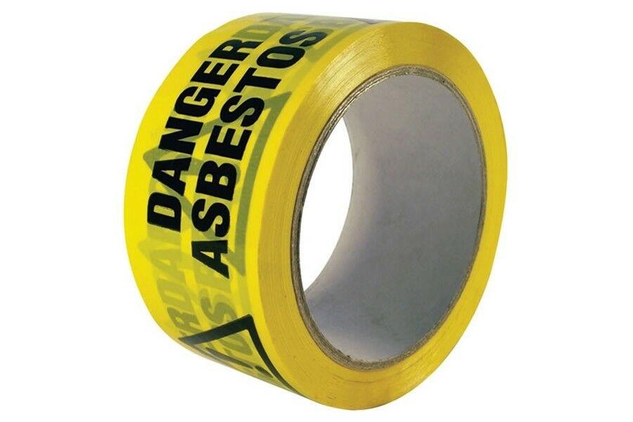 Asbestos Danger Adhesive Tape