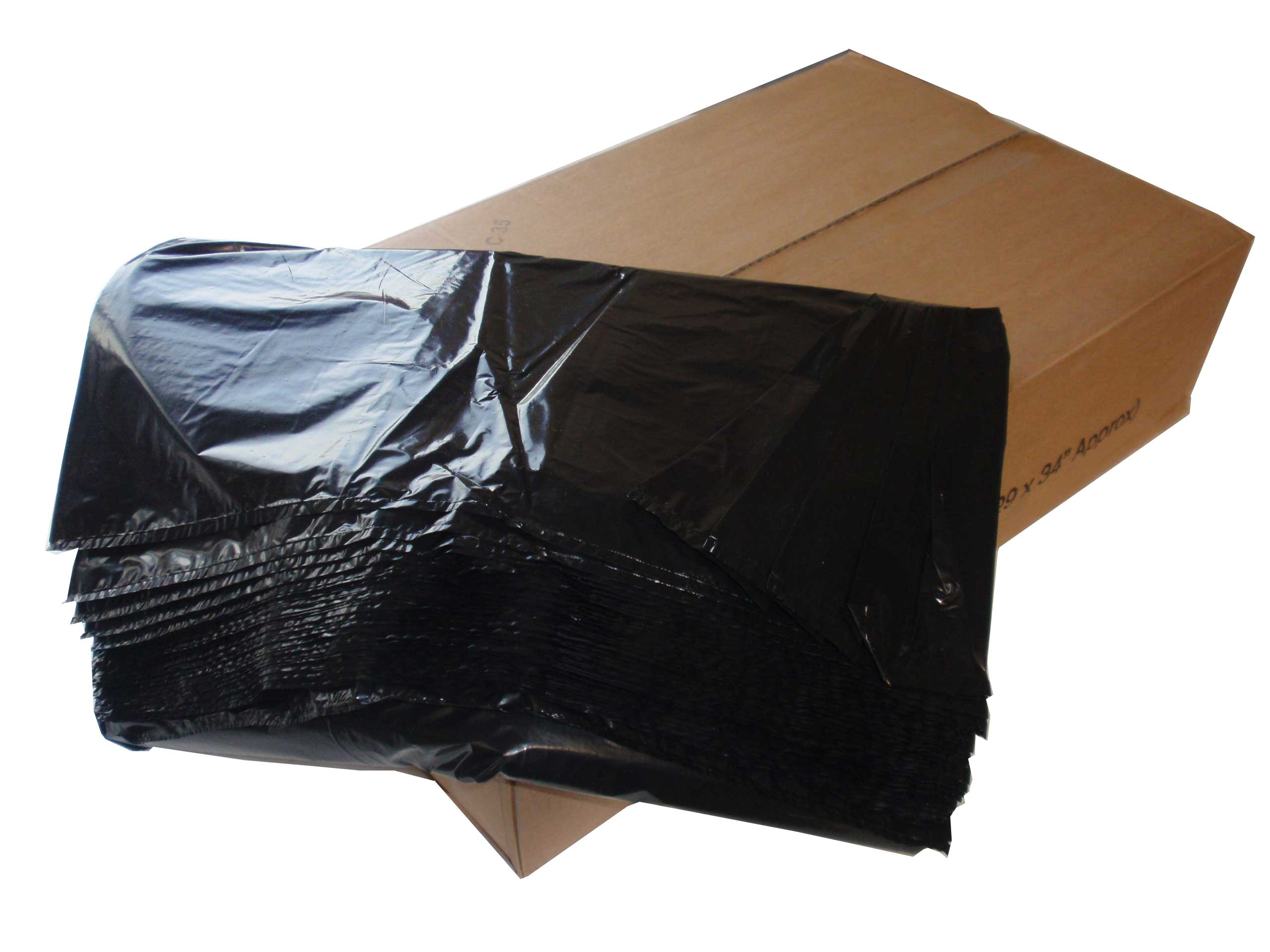 Refuse Sacks / Rubbish Black Bin Bags
