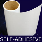 Steel Sheeting Adhesive White 800mm x 5m