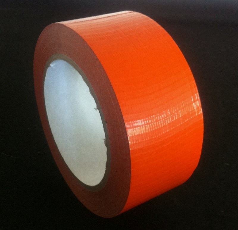 "Cloth Tape Adhesive Orange 4"" x 45m"