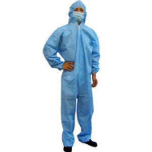 Polypropylene Coveralls Blue Medium