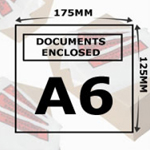 Document Enclosed Wallets A6 Printed
