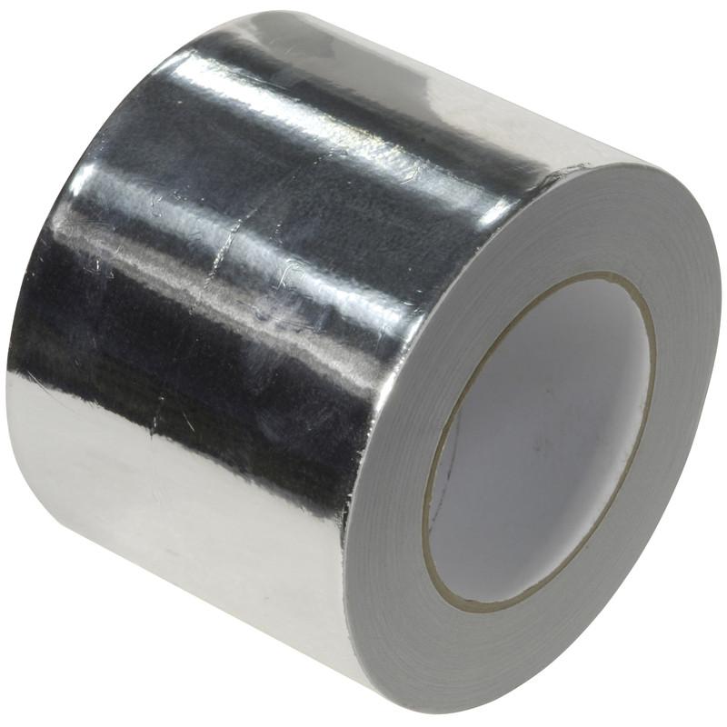 Heat Resistant Aluminium Foil Tape 100mm x 45m