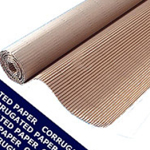 Corrugated Paper Roll 450mm x 75m