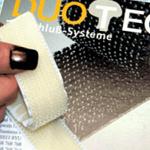 Duotec® Self Adhesive Reclosable Mushroom Fastener Clear 25mm x 25m