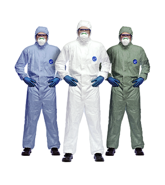Dupont Tyvek Disposable Coveralls