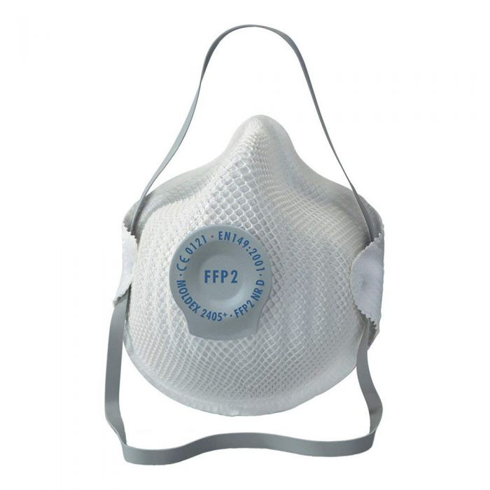 N95 Valved Face Mask Respirator Flu Cold  FFP2 (5 Masks)
