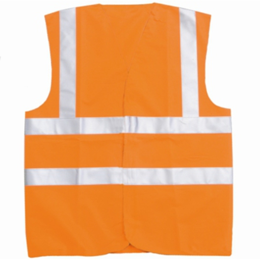 Hi-Vis Waistcoat Orange Large