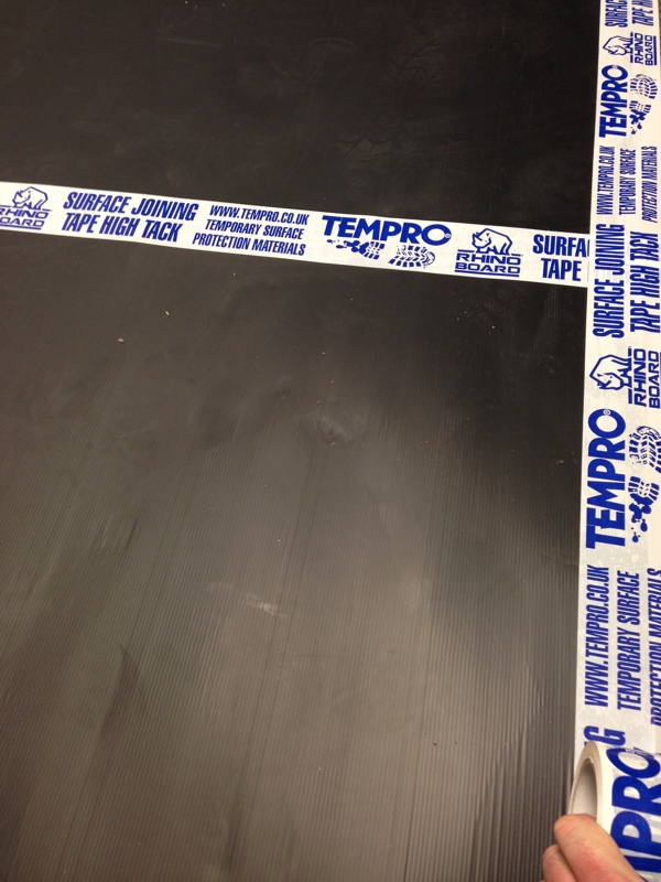 Tempro® Extra Wide High Tack Joining & Fixing Tape