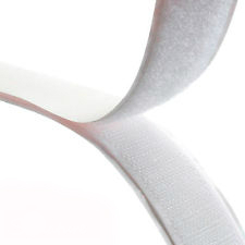 Rip 'n' Grip Tape HOOK White High Tack Rubber Adhesive 20mm x 25m
