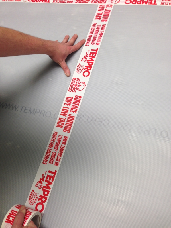 Tempro® Extra Wide Low Tack Joining & Fixing Tape
