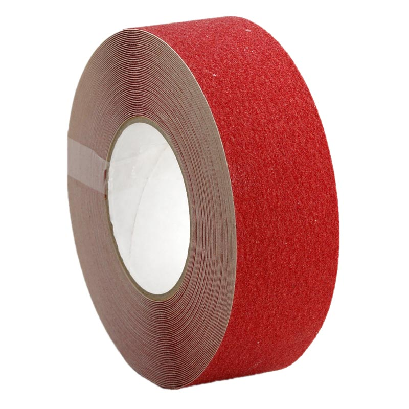 Anti Slip Non Skid Tape Self Adhesive Red 50mm x 18m