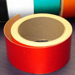 Reflective Tape Self Adhesive Red 50mm x 10m