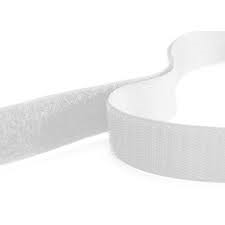 Rip 'n' Grip Tape LOOP White Sew-on 50mm x 25m
