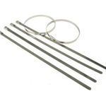 Stainless Steel Cable Ties (Pack of 100) 7.9mm x 360mm