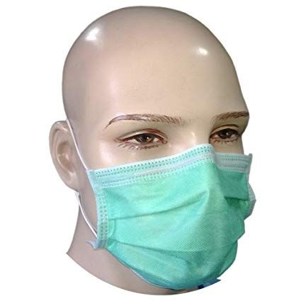 Disposable Paper Face Mask FFP2 Surgical Dental Salon Beauty 3 PLY (50X) Type 2