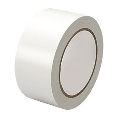 VINYL PVC Parcel Tape White 48mm x 66m
